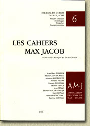 CMJ6 : Journal de Guerre de Max Jacob